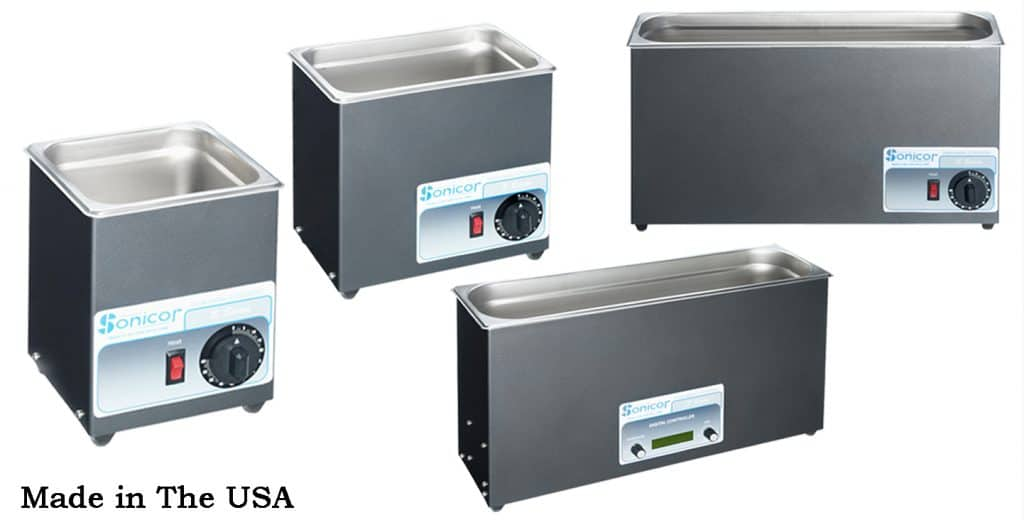 tabletop ultrasonic cleaners made in usa